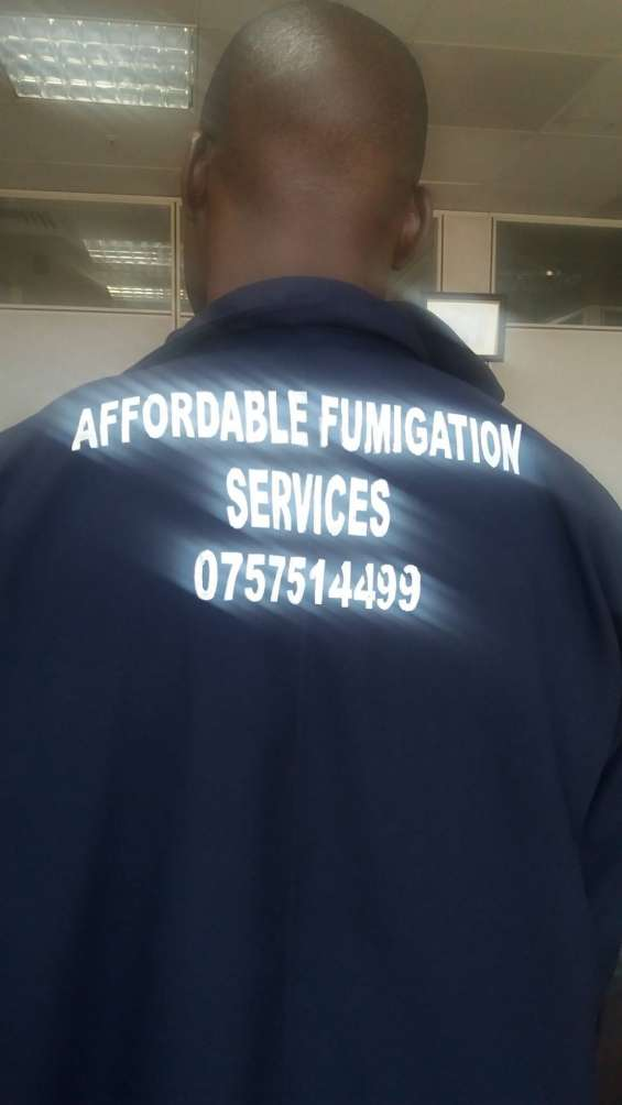 Affordable fumigation services 0757514499