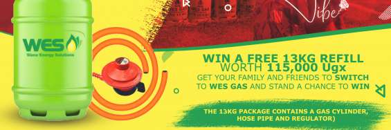 Win win win with wes gas this february till valentines!   win a free 13kg gas refill worth 115,000 ugx get your family and friends to switch to wes gas and stand a chance to win.   simply : 1. refer them to download our app from playstore https://play.goo