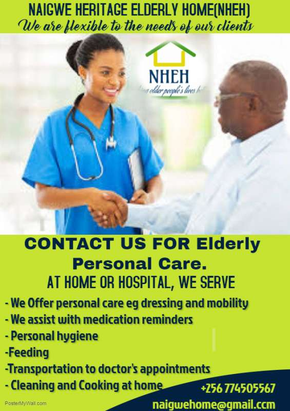 In-home & hospital older person's caregivers you can trust at an affordable price!