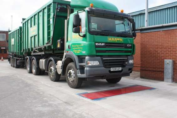 Certified axtc dynamic axle weighbridge in uganda