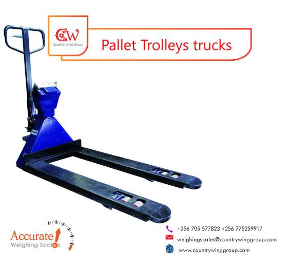 Verified light duty pallet truck weighing scales in uganda