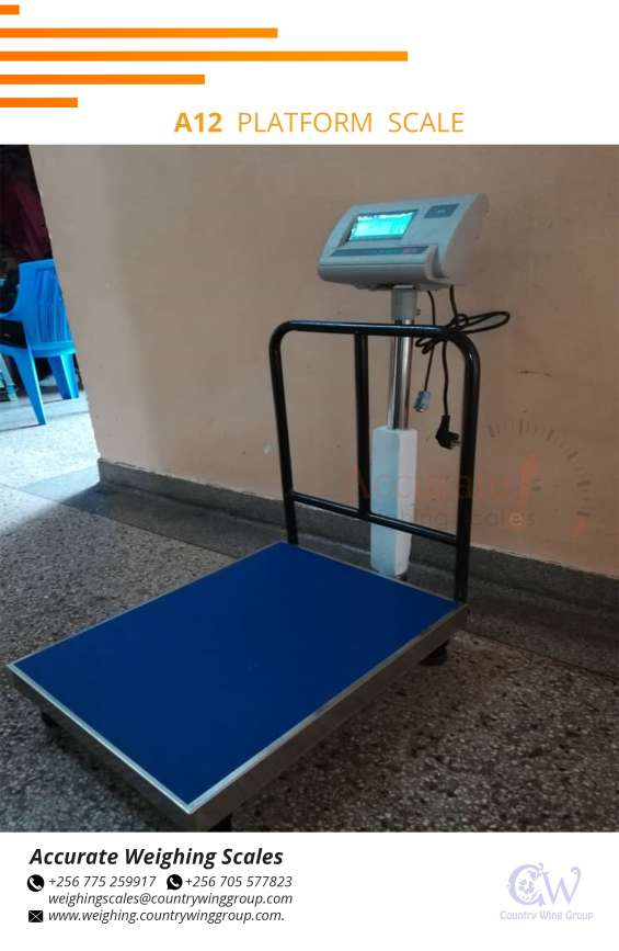 The most basic platform scale offered by accurate weighing scales is the aluminum-constructed standard 3200 platform scale. this scale is available in numerous platform dimensions. each dimension option is available with 2 different maximum capacity/resol