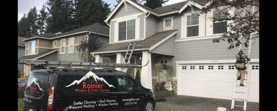 Rainier tacoma window cleaning