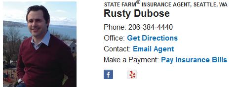 Rusty dubose - state farm insurance agent