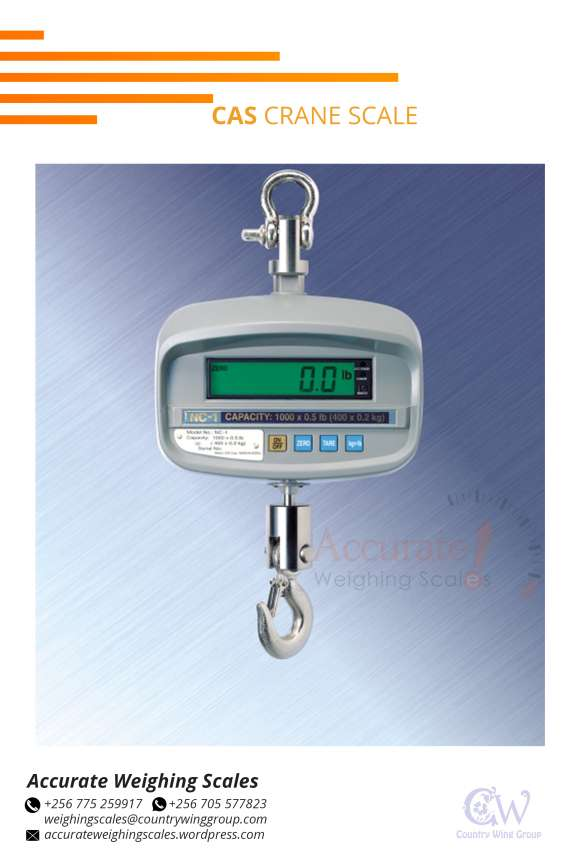 Crane scales with remote control of 15m wandegeya kampala