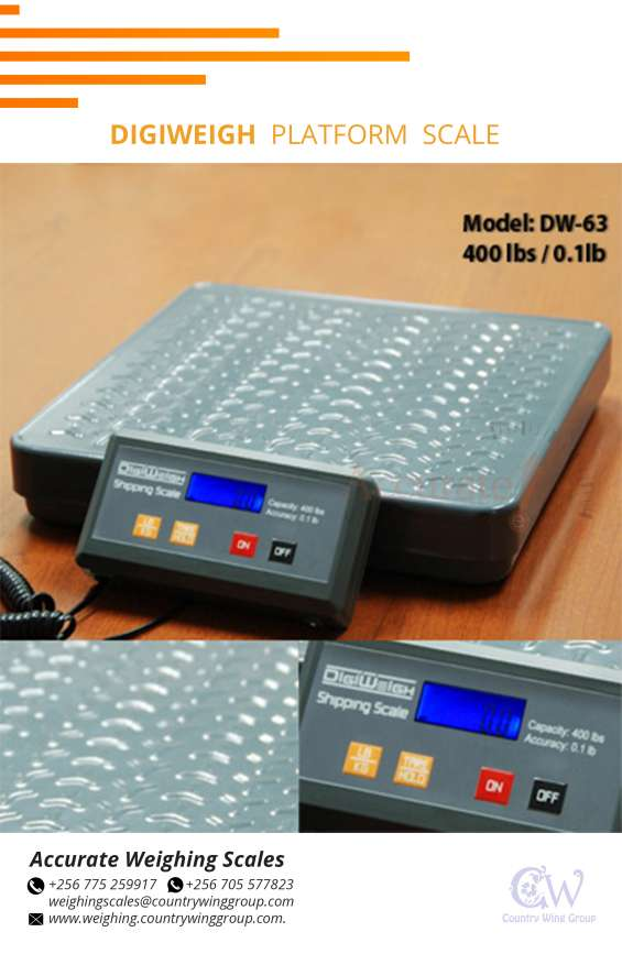 Qualified platform scales for trade in kampala uganda