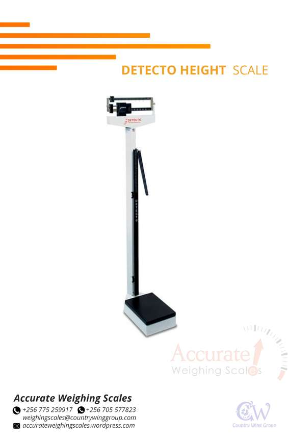 What is the price of health scales with various capacities kampala uganda?