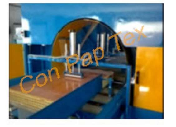 Door wrapping machine, conveyor, coil wrapping, packaging