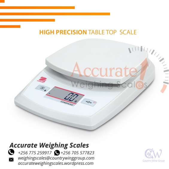 What is the cost of table top weighing scale with an ingress protection in uganda
