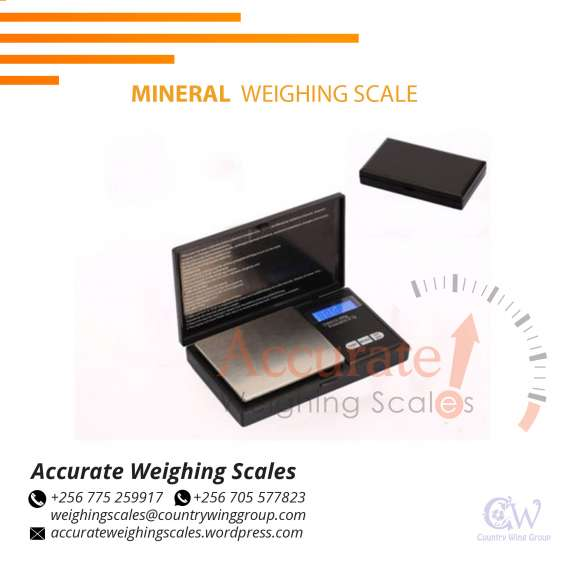 What is the cost of mineral weighing scales range 0 - 300g x 1g in kampala uganda