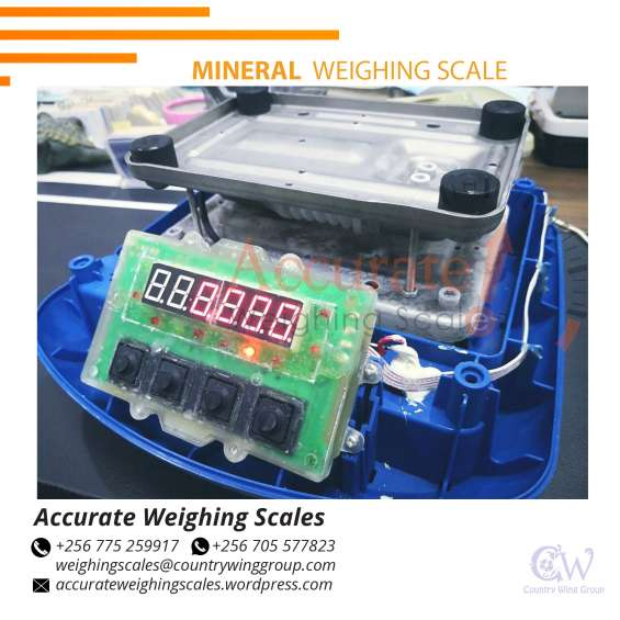 Which supplier shop distributes portable ewelry weighing scales in kampala uganda