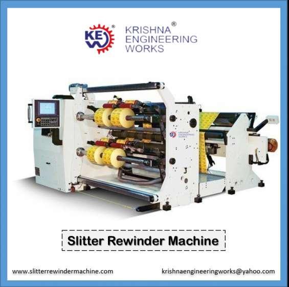 Manufacturer, exporter and supplier of slitter rewinder machine