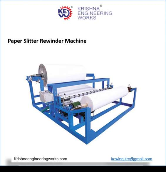 Fax roll paper slitter rewinder   paper slitter rewinder machine