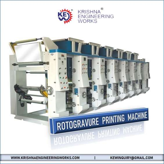 Best manufacturer rotogravure printing machine at best price