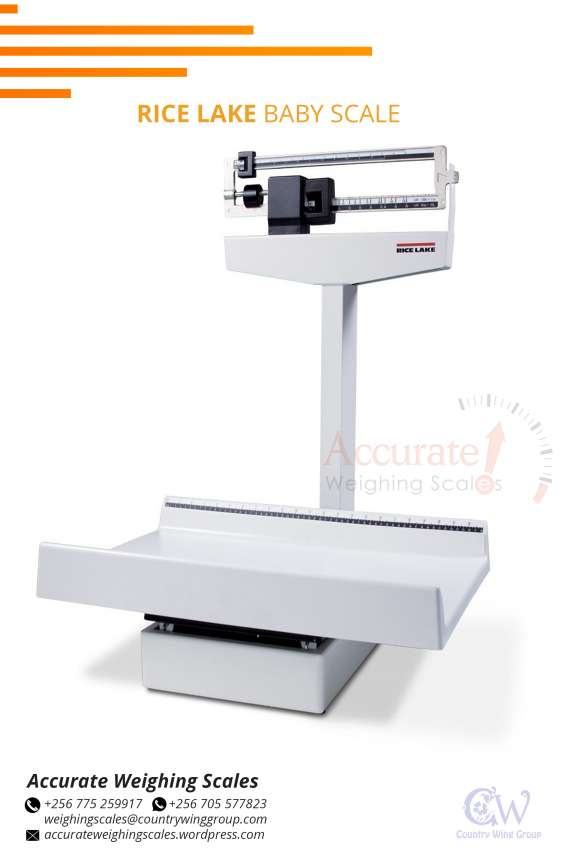 Easy to operate mechanical baby weighing scales at supplier shop kampala