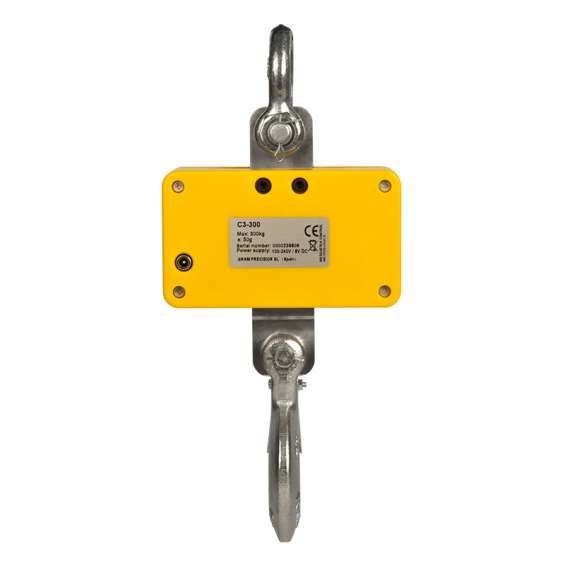 Affordable yellow digital battery commerical crane scale kampala