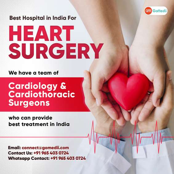 Get the best and affordable cost of heart transplant in india