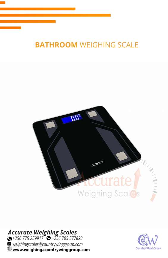 Health fitness smart bathroom weighing scale with wifi output entebbe