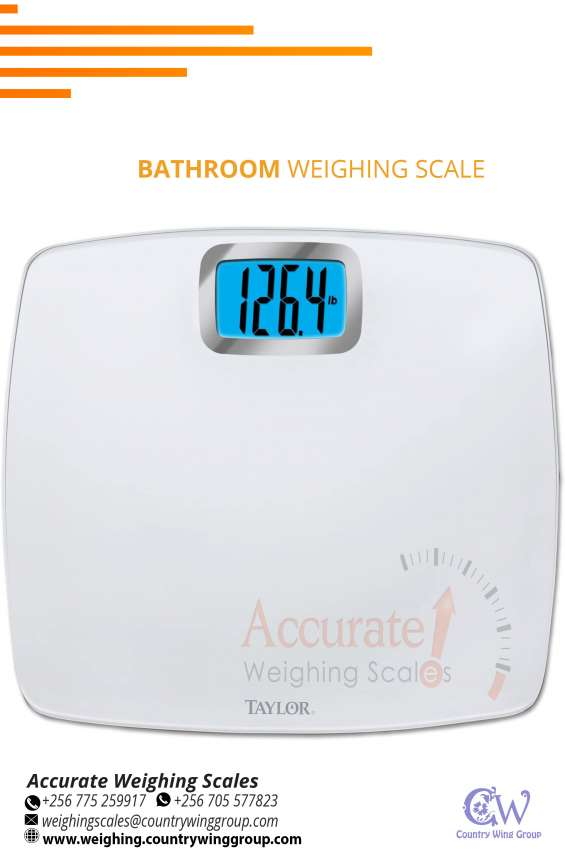 Purchase digital bathroom weighing scales supplier in kampala