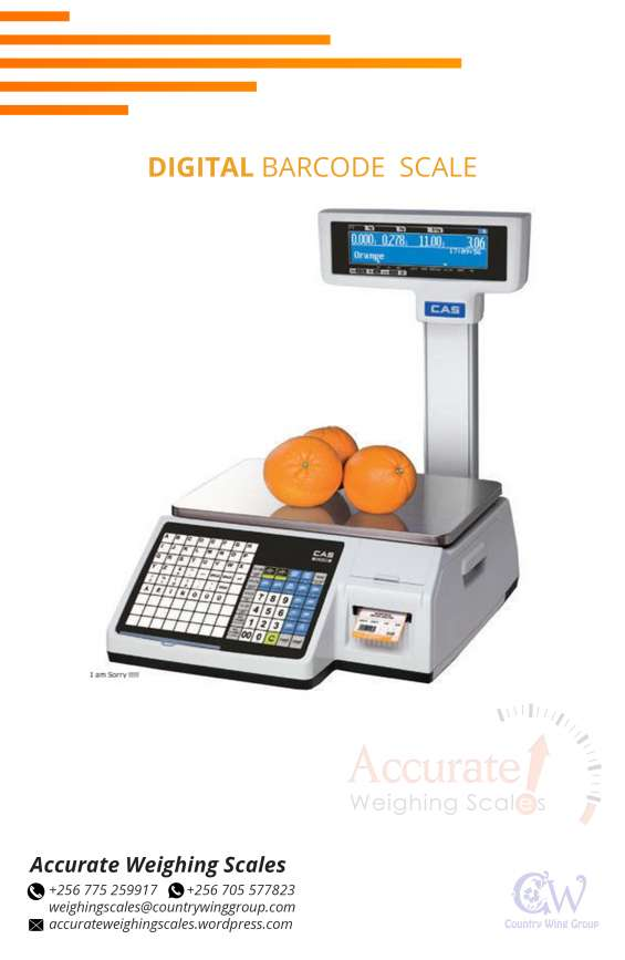 Barcode printing scale with printing speed >50mm/s with 1year warranty