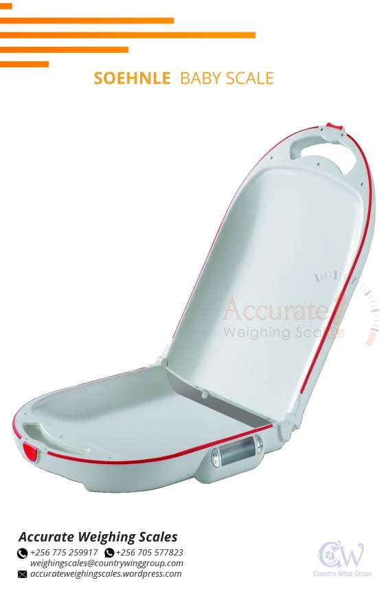 Easy to operate digital baby weighing scales at supplier shop kampala