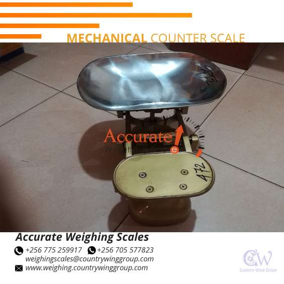 Retail commerciaal weighing scales with flat plate in stock kampala