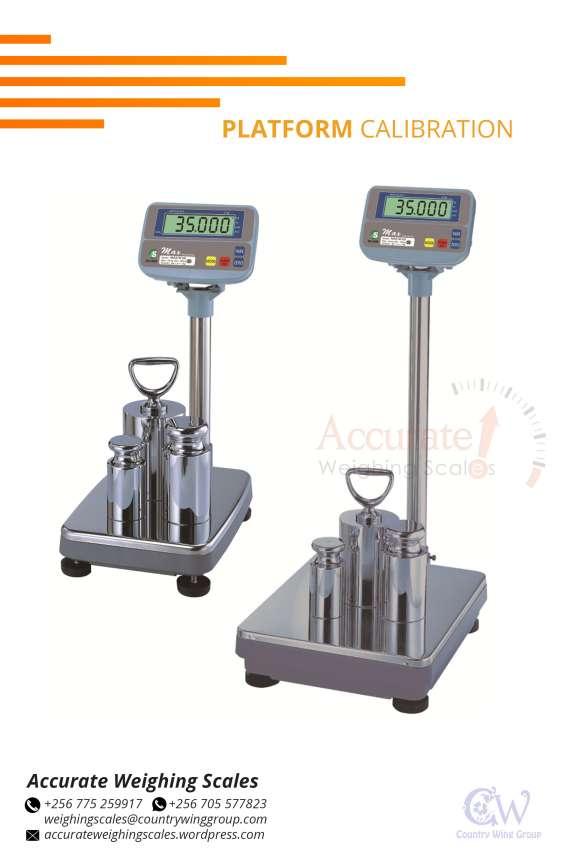 Standard test weights for platform weighing scales calibration wandegeya
