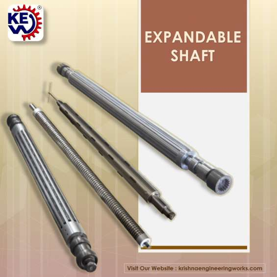 Expandable shafts suppliers at best price | krishna engineering works