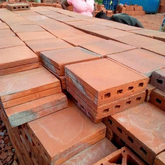 Floor tiles (quarry type)