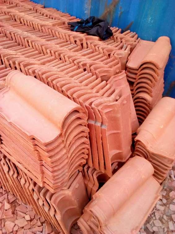 Portuguese roofing tiles