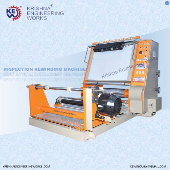 Inspection rewinding machine at best price and standard quality