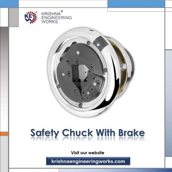 Manufacturer of safety chuck with brake, air shaft chuck
