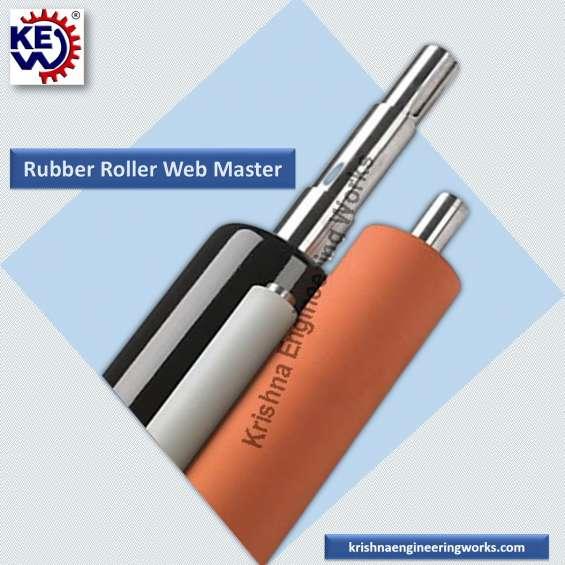 Manufacturer of web master, rubber roller, krishna engineering works