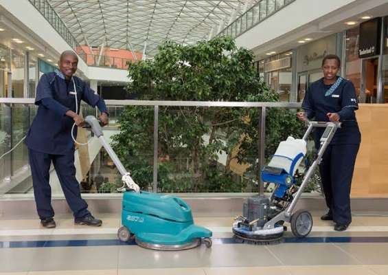 Cleaners, garbage collectors and a few security guards needed