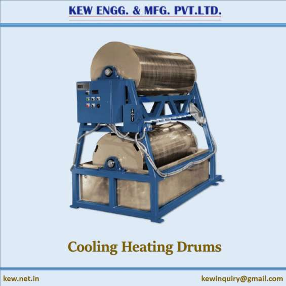 Manufacturer of cooling heating drums   tyre cord machinery   calendering plant