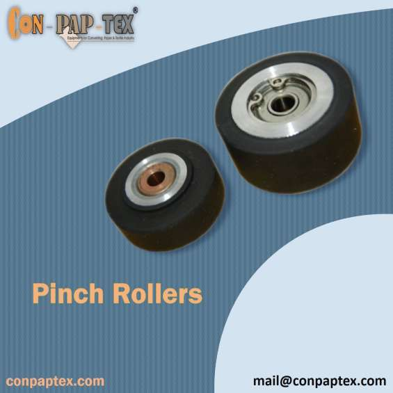 Best price of pinch rollers, rubber pinch roller, conpaptex equipments